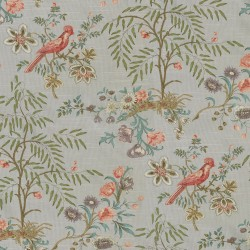 Above the Treetops 681890 Platinum Waverly Fabric
