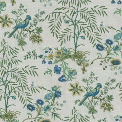 Above the Treetops 681892 Prussian Waverly Fabric