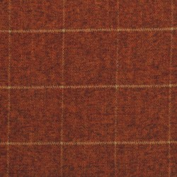 Strut Burnt Orange Pkaufmann Fabric