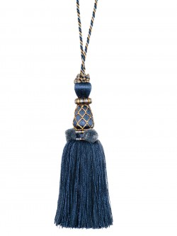 Dramatic 02125 Ink Decorative Tassel