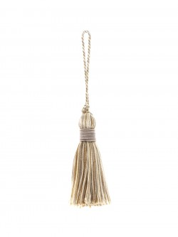 02498 Porcini Decorative Tassel