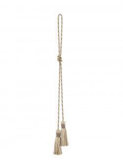 02499 Porcini Decorative Tassel