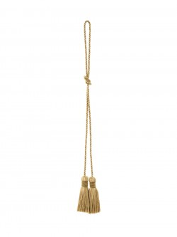 02499 Gold Decorative Tassel