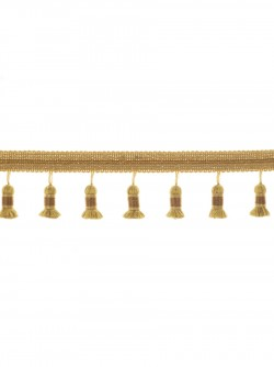 02655 Brass Trim Fabric