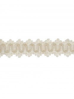 Fantastic 02866 Ecru Trim Fabric