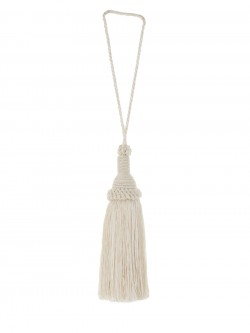 02870 Ecru Decorative Tassel