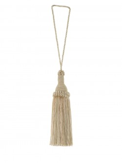02870 Greige Decorative Tassel