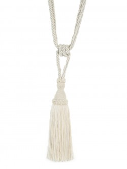 02871 Ecru Decorative Tassel