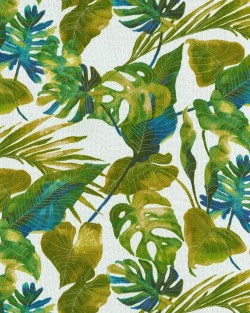Inky Palms 801640 Jade Tommy Bahama Outdoor Fabric