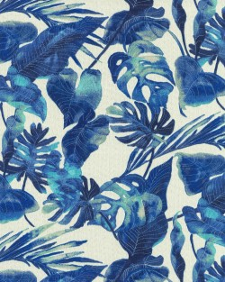 Inky Palms 801641 Indigo Tommy Bahama Outdoor Fabric
