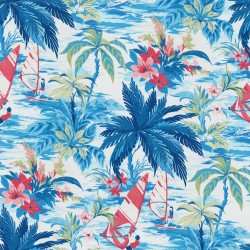 Wind Surfers 802231 Azul Tommy Bahama Outdoor Fabric