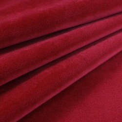 Velvet Upholstery Fabric Como 991 Red