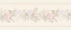 992B07571 Alexa Pastel Floral Meadow Border