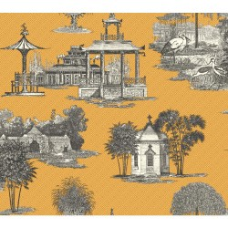 Ashford Toiles Mandarin Dream Wallpaper (AF1916_B12)