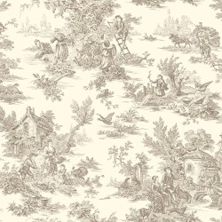 Ashford Toiles Campagne Toile Wallpaper (AF2015_B12)