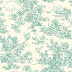 Ashford Toiles Campagne Toile Wallpaper (AF2016_B12)