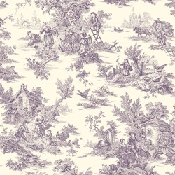 Ashford Toiles Campagne Toile Wallpaper (AF2017_B12)