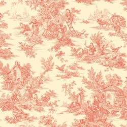 Ashford Toiles Campagne Toile Wallpaper (AF2018_B12)
