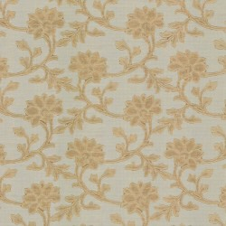 Alcedo Gold Kasmir Fabric