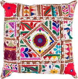 Come Away with Me Tan, Multi-Color Pillow | AR068-2222D
