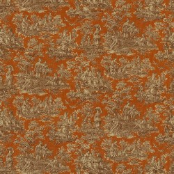 Arcadia Toile Autumn Kasmir Fabric