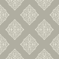 New Neutrals Henna Tile Wallpaper