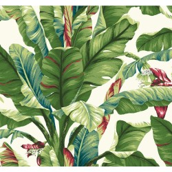 Tropics Banana Leaf Wallpaper | AT7068_650