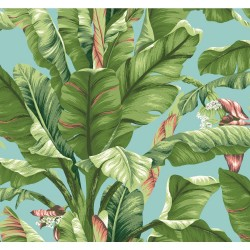 Tropics Banana Leaf Wallpaper | AT7070_650