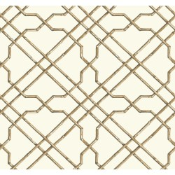 Tropics Bamboo Trellis Wallpaper | AT7074_650