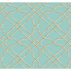 Tropics Bamboo Trellis Wallpaper | AT7077_650