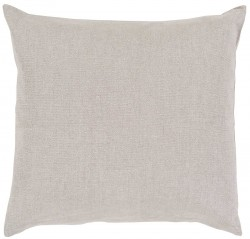 Audrey Pillow with Poly Fill in Light Gray | AU001-1818P