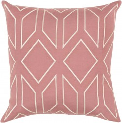 Skyline Pillow with Poly Fill in Rust   BA031-1818P