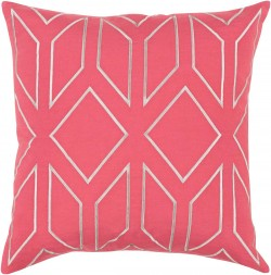 Skyline Pillow with Poly Fill in Carnation   BA032-1818P