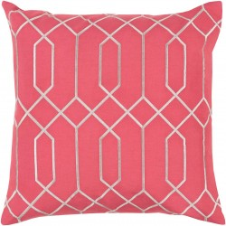 Skyline Pillow with Poly Fill in Carnation   BA042-1818P
