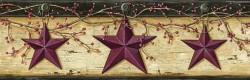 Graham Sand Rustic Star Trail Wallpaper Border