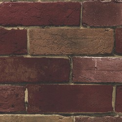 BG21586 Deep Red Brick Wallpaper