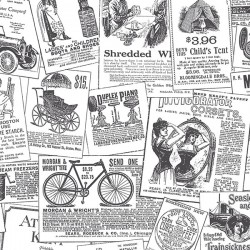 BK32083 Newspaper Wallpaper