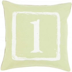 Mike Farrell The One Green, Tan Pillow | BKB042-1818P