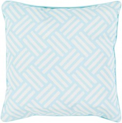 Basketweave Pillow in Teal | BW002-1616
