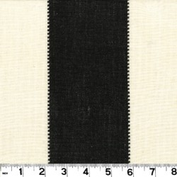 Calypso Black/White Fabric