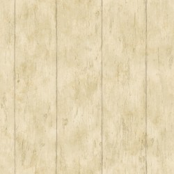 Reclaimed Cottage Gold Wood Wallpaper