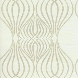 CD4082 Candice Olson Decadence Eden Sisal Wallpaper