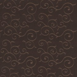 Chartres Scroll Chocolate Kasmir Fabric