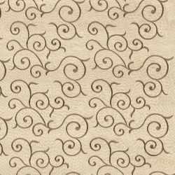 Chartres Scroll Honey Kasmir Fabric