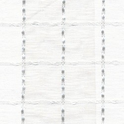Checkerboard White Kasmir Fabric