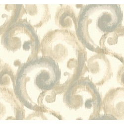 Modern Artisan Arabesque Wallpaper (CN2189_A64)