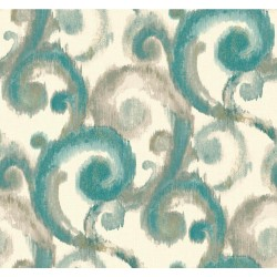 Modern Artisan Arabesque Wallpaper (CN2190_A64)
