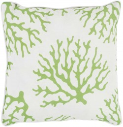 Coral Pillow in Lime | CO006-1616