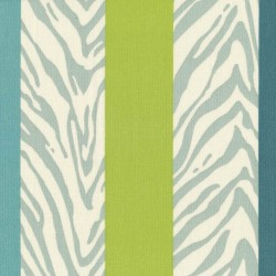 Cool Cat Stripe Palm Kasmir Fabric