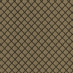 Coquille Black Kasmir Fabric